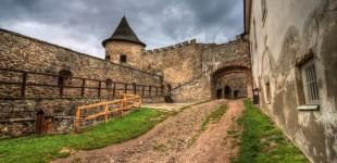 Zamek Stara Lubowla - Słowacja
