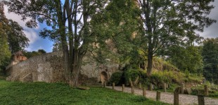 Ruiny zamku w Świeciu