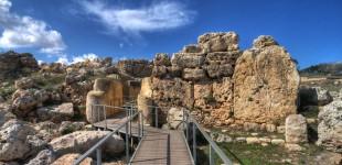 Ġgantija - Malta - Megalityczne Świątynie