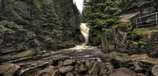 Wodospad Szklarski i Wodospad Kamieńczyk