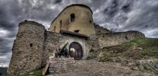 Zamek Krasna Horka -Słowacja